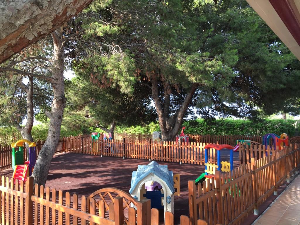 Parque exterior